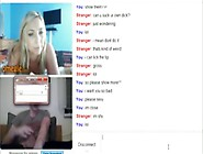 Hot 25Yo Blonde Anal American Girl Has Cybersex With A German Gu