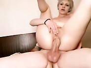 Short-Haired Woman Rides Dick Anal That Are Big
