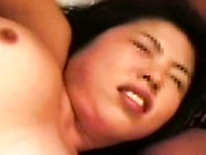 Buxom And Horny Japanese Wife Indulges In Hard Sex With Two