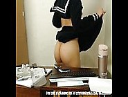 Japanese School Girl In Detention...
