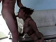 Well Endowed Stud Pokes Hard Slut In Body Fishnet Mone Devine
