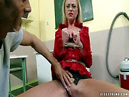 Blond-Haired Legal Teacher Dorina Gold Gets