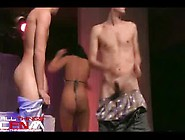 Sexxxy Stripper Fucks Customer On Stage
