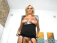 Blonde Mature Slut Has A Doggy Style Fuck Lingerie Style