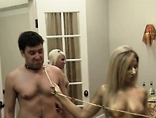 Spanking And Kinky Dancing With A Swingers In A Mansion