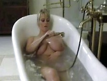 Bea Flora In Bathtub