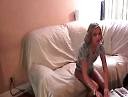 Shy College Girl Takes Cock For A Blow In Pov
