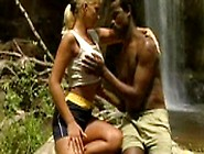 Interracial Safari Sex By The Falls