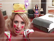 Asa Akira And Capri Cavanni Love To Clown Around