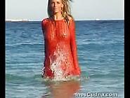 Ines Cuda Gets Wet
