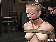 Full Natural Plump Teen Is Tied Up And Punished In Torture Room