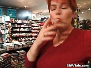 Busty Red Head Slut Taking Big Dick