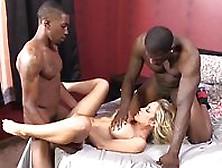 Slutty Blonde Capri Cavanni Gets Double Penetrated
