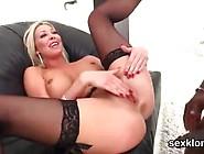Pornstar Peach Gets Her Butt Hole Drilled With Monster Boner