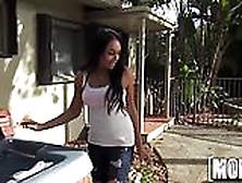Ebony Babe's Anal Vacation - Mofos. Com