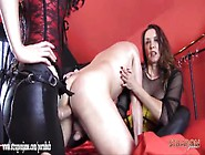 Good Hard Double Dom Spitroast Anal Fuck With Big Strapons For S