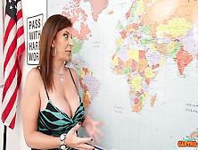 Angelina Castro And Gia Love - Strap On Schoolgirls