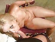Hot Blonde Gets Bondaged And Fucked Rough