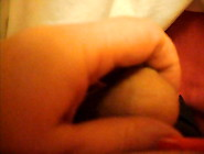 Long Red Nails Handjob