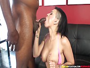 Latinfixation Tatted Babe Eva Angelina Gets Fucked By A Big Blac