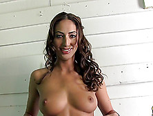 Angelica Sage Shows Her Natural Tits And Hot Caboose