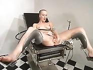 Sharon Wild Fists Her Hoo-Hoo Having A Machine Backside