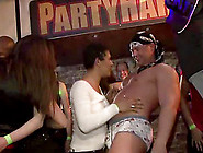 An Orgy Club Group Sex Of Dame Giving Massive Dick Blowjob