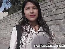 Puta Locura Cute Busty Teen Picked Up