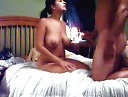 Indian Busty Babe Blows Dick Like A Real Pro