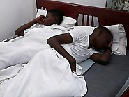 Uncut Black African Twinks Cuddling Moment