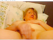 Nasty Old Slut Is Masturbating In This Porn