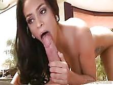 The Latina Jasmine Caro Having Cock For Breakfast