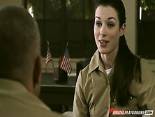 Hot Soldier Stoya Enjoys Explicit Pussy Licking Pleasures