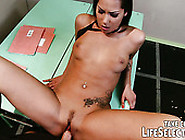 Bad Student Chick Cipriana Is Punished By Her Teacher