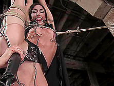 Wenona Enjoys Getting Her Holes Fucked Hard With Toys In Bdsm Sc