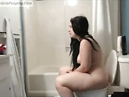 Fat Ass Girl Takes Dump