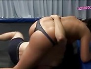 Mixed Female Wrestling Domination
