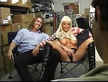Busty Layla Jade Screwed In Warehouse