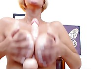 Tasty Curvy Whore Plays With Her Pussy And Squirts