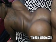 Pounding That Ebony Pussy With His Big Black Cock Made Him Cum