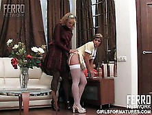 Bridget M Convinces Sheila To Lick Her Pussy And Suck Her Clit