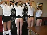 Spanked And Caned Schoolgirls