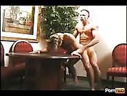 Muscular Cop Rides Criminal's Ass