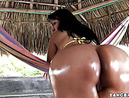 Colombian Nympho With Huge Ass Gets Her Juicy Pussy Fucked Doggy