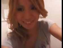 Cute Jap Redhead Pooping