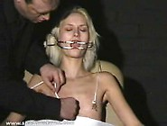 Cruel Amateur Bdsm And Needle Tit Torture Of Tied Blonde Slavesl
