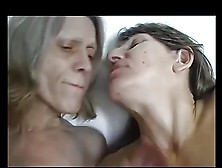 Two Mature Lesbians And Nice Saggy Tits