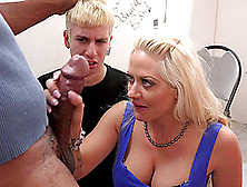 Cumming On Her Pussy After He Wrecks Her With His Big Dick