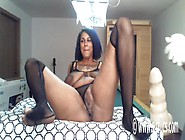 Amateur Ebony Pussy Fist Squirt