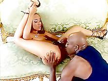 Crazy Pornstar Kapri Styles In Incredible Rimming,  Black And Ebo